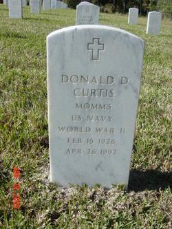 Donald D Curtis