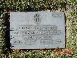 Homer W Curtis