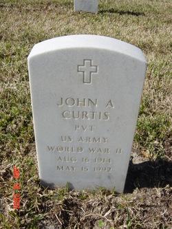 John A Curtis