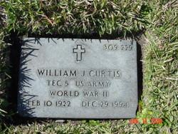 William J Curtis