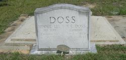 Minnie Lee <I>Leatherwood</I> Doss