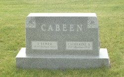 Catherine Ann <I>Saunders</I> Cabeen