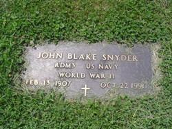 John Blake Snyder
