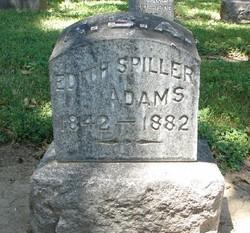 Edith Sophia <I>Spiller</I> Adams