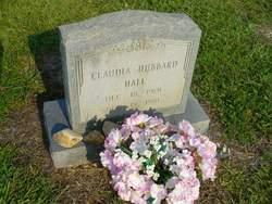 "Claudia ""Claudie Lillie"" <I>Hubbard</I> Hall"