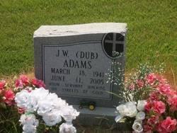 """Rev John Wesley """"Dub"""" Adams"""