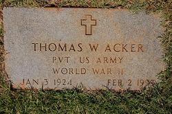 Thomas Waco Acker