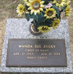 Wanda Sue <I>Broussard</I> Avery