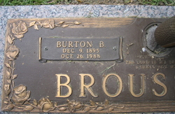Burton B Broussard