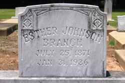 Esther Johnson Branch
