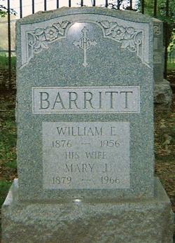 Mary Josephine <I>Murphy</I> Barritt