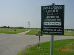 Osage Gardens Cemetery