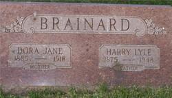 Dora Jane <I>Acker</I> Brainard