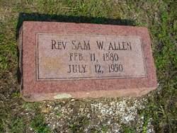 Rev Sam W. Allen
