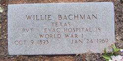 "William M. ""Willie"" Bachman"