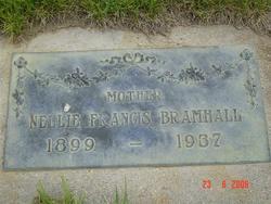 Nellie F Bramhall