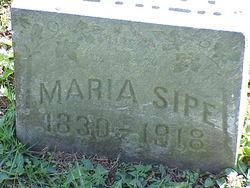 Maria <I>Hittle</I> Sipe