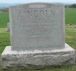Alice <I>Cline</I> Lincoln