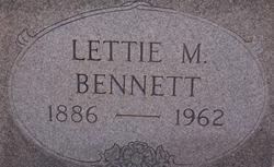 Lettie May Bennett