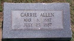 Carrie Allen
