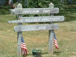 Duplain Township Elsie Village Cemetery