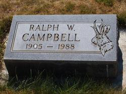 Ralph W Campbell