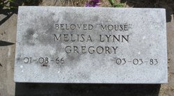 "Melisa Lynn ""Mouse"" Gregory"