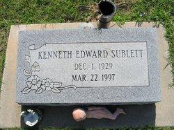Kenneth Edward Sublett