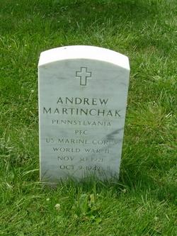 PFC Andrew Martinchak