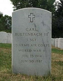 Carl Buetenbach, III (1914-1987) - Find A Grave Memorial