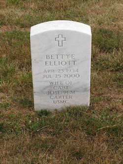 Bettye Jane <I>Elliott</I> Carter