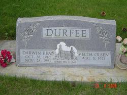 Velda <I>Olsen</I> Durfee