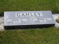 Irene E <I>Warne</I> Gahley