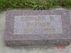 """Dr Edward Delane """"E.D."""" Garard"""