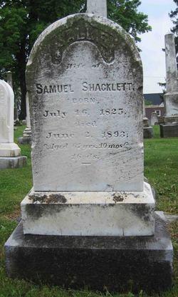 """Sarah """"Sallie"""" <I>Long</I> Shacklett"""