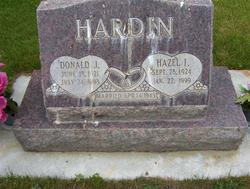 Hazel Irene <I>Dillon</I> Hardin