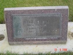 Leslie G Hill, Jr
