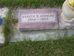 Evelyn <I>Watts</I> Johnson