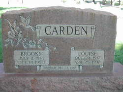 Louise <I>Meese</I> Carden