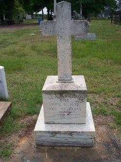 Maj A. M. Burnham