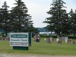 Saint Agatha Mennonite Church Cemetery