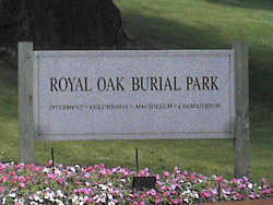 Royal Oak Burial Park Cemetery