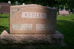 Clara <I>Lutes</I> Ashley