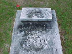 Marshall Thomas  ''Jack'' Beckum, Sr