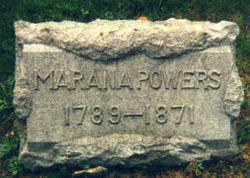 Marana Almira <I>Ward</I> Powers