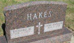 Martha Jane <I>Hanlon</I> Hakes
