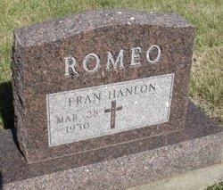 Fran <I>Hanlon</I> Romeo