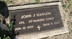 """John J """"Jack"""" Hanlon"""
