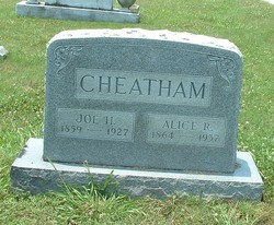 "Joseph Henry ""Joe"" Cheatham"