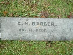 Pvt George Henry Barger